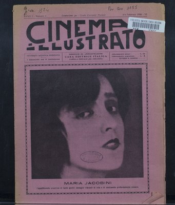 Periodici storici illustrati Cinema illustrato