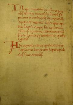 Manoscritto bolognese