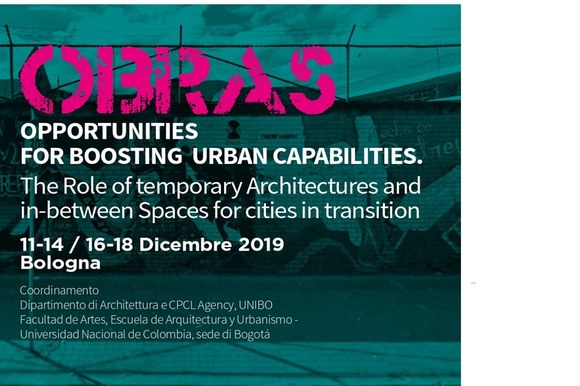 OBRAS Opportunities for Boosting urban capabilities. The Role of temporary Architectures and in-between Spaces for cities in transition