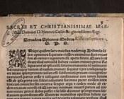 'Ovadyah Sforno, Opusculum … Lumen gentium appello, [Bologna], Anselmo Giaccarelli, 1548 | dettaglio pag. 3