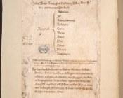 Bibbia, Agiografi | contropiatto anteriore con ex libris del Convento di San Salvatore di Bologna