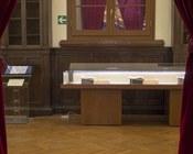 Biblioteca Universitaria di Bologna | Atrio dell'Aula Magna