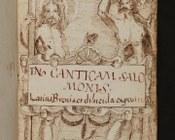 Cantico dei Cantici plurilingue | frontespizio disegnato a inchiostro