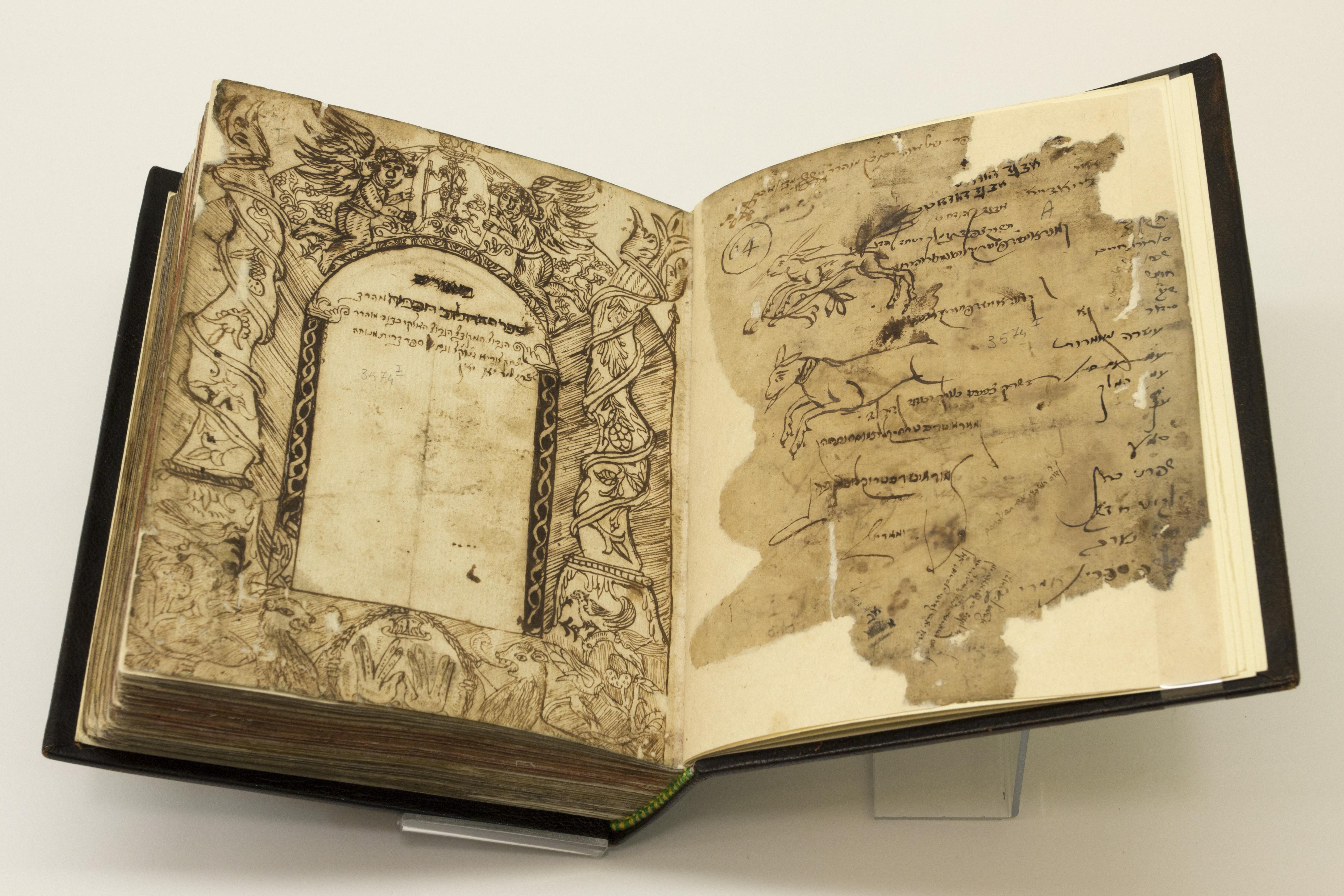 Biblioteca Universitaria di Bologna, Ebraici; ms. 3574 I