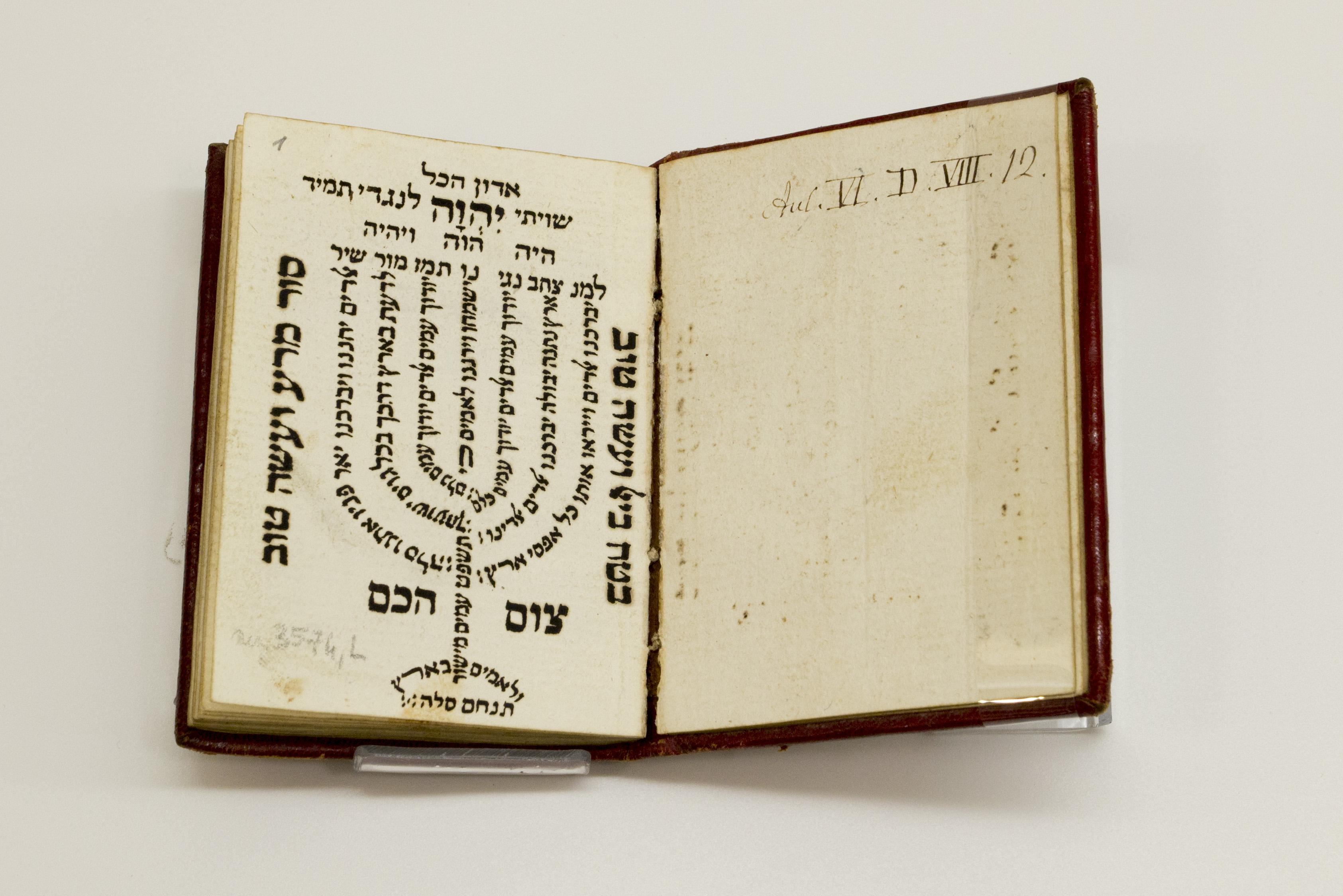 Biblioteca Universitaria di Bologna, Ebraici; ms. 3574 L